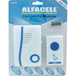 Campainha-s-Fio-32Sons-AL09026-Alfacell