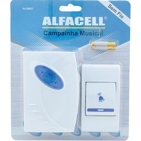 Campainha-s-Fio-32Sons-AL09027-Alfacell