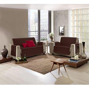 Protetor-para-Sofa-2-Lugares-Pop-Hedrons-Cacau
