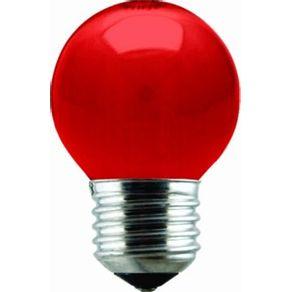 Lampada-Incandescente-15W-Bola-Taschibra-127V-Vermelha