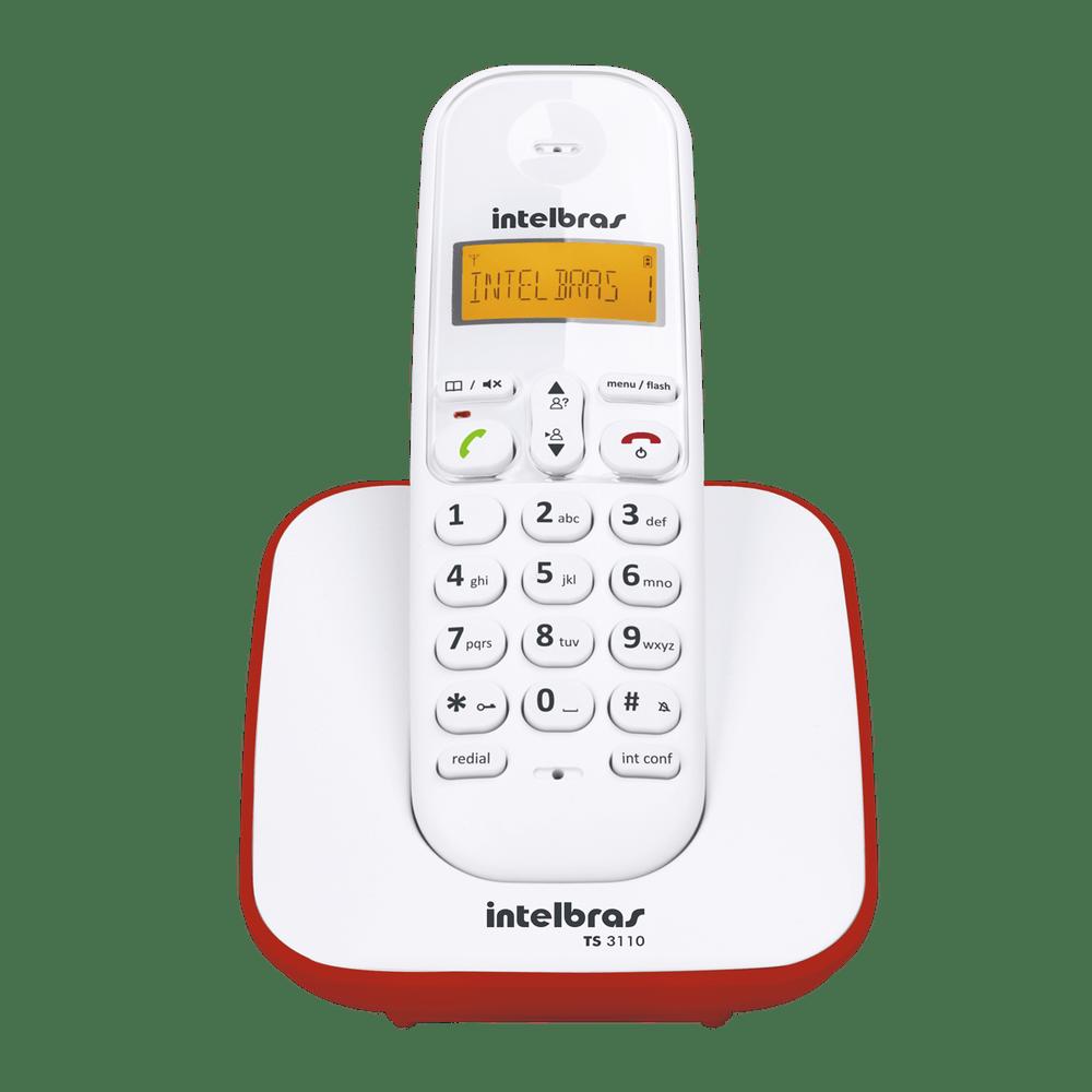 ab22ccea2 Telefone sem Fio Intelbras TS3110 com Identificador - Casa e Video