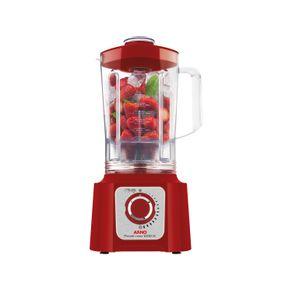 Liquidificador-Arno-1000W-3.1L-e-15-Velocidades-Power-Max-LN54-Vermelho-127V