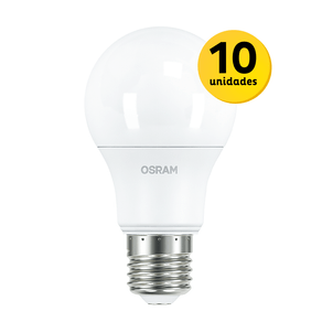 Kit-10-lampadas-led-6W-osram-bivolt-branca