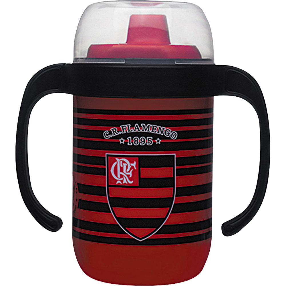 Copo Antivazamento com Alça 250ml 7104 Lolly Flamengo - Casa e Video 36d4abe8ea4a8