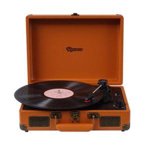 Vitrola-Toca-Discos-Raveo-Bluetooth-10WRMS-com-Entrada-USB-Sonetto-Caramelo
