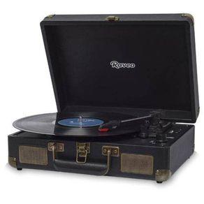 Vitrola-Toca-Discos-Raveo-Bluetooth-10WRMS-com-Entrada-USB-Sonetto-Preto