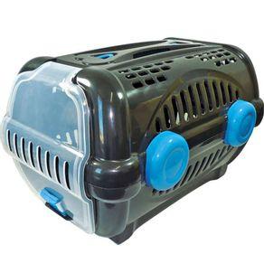 Caixa-de-Transporte-Furacao-Pet-Plastica-nº1-Luxo-0534-Preta-Azul