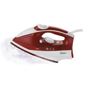 Ferro-a-Vapor-Oster-com-Spray-e-Base-de-Ceramica-Ultra-Care-6201-Vermelho-127V