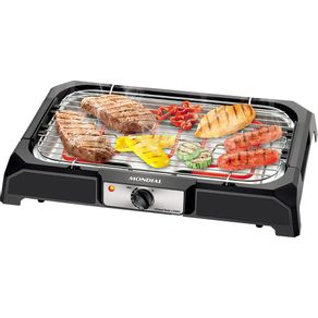 Churrasqueira-Eletrica-Mondial-Grand-Steak---Grill-CH05-Preta-127V