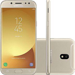 Smartphone Samsung J5 Pro J530g 32gb Desbloqueado Dual Chip. Tela 5.2. 4g/wi-fi e 13mp - Dourado