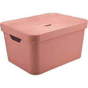 Caixa-Organizadora-32L-Alta-com-Tampa-e-Alca-Cube-OU-Rosa
