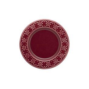 Prato-de-Ceramica-Sobremesa-20cm-Mendi-Oxford-Corvina