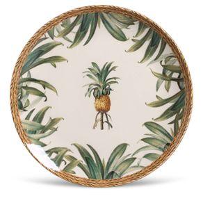 Prato-de-Ceramica-Raso-27cm-Porto-Brasil-Pineapple