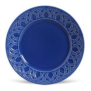 Prato-de-Ceramica-Raso-26.5cm-Cestino-Porto-Brasil-Azul-Navy