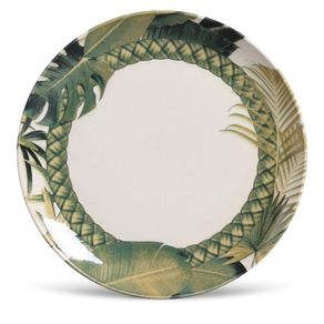 Prato-de-Ceramica-Raso-27cm-Porto-Brasil-Foliage