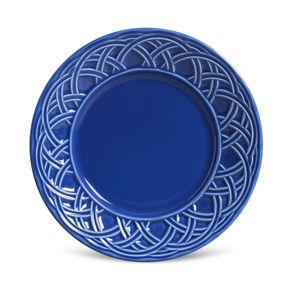 Prato-de-Ceramica-Sobremesa-Cestino-Porto-Brasil-Azul-Navy