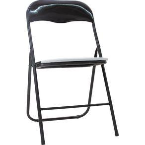 Cadeira-Dobravel-45x78cm-Relaxe-Cazza-Preta
