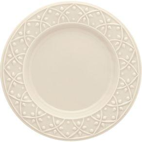 Prato-de-Ceramica-Sobremesa-20cm-Mendi-Oxford-Marfim