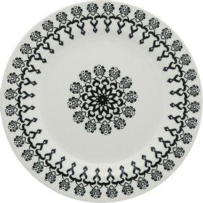 Prato-de-Ceramica-Raso-25cm-Folk-Oxford