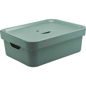 Caixa-Organizadora-105L-Media-com-Tampa-e-Acla-Cube-OU-Verde