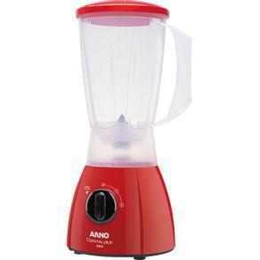 Liquidificador-Arno-550W-com-Capacidade-de-2L-e-2-Velocidades-Optimix-Plus-LN25-Vermelho-127V-