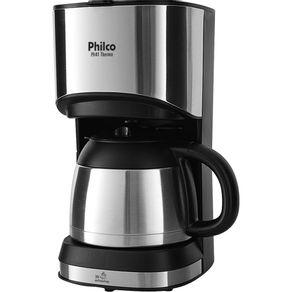 Cafeteira-30-Xicaras-Jarra-Termica-Philco-Thermo-PH41-Preta-Prata-127V-
