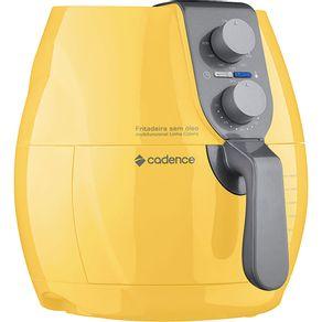 Fritadeira-sem-Oleo-2.3L-Cadence-com-Timer-Perfect-Fryer-FRT544-Amarela-127V-