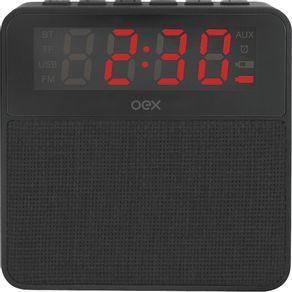 Radio-Relogio-FM-e-Bluetooth-OEX-CS100-Preto-