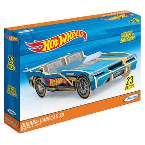 Quebra-cabeca-3D-23-Pecas-Madeira-Hot-Wheels-2255.4-Xalingo