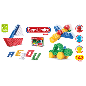 Blocos-de-Montar-143-Pecas-Sem-Limite-Basic-0551-Roma