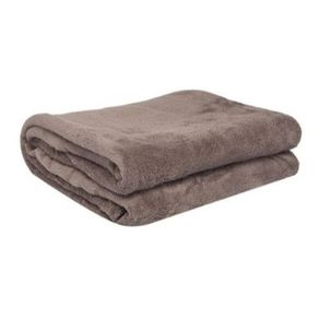 Manta-Solteiro-150x200cm-Fleece-Lisa-Corttex-Taupe
