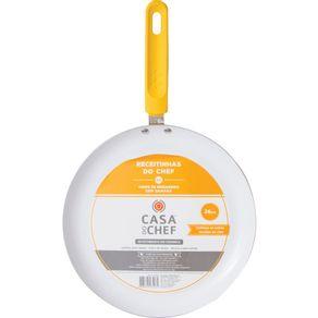 Panquequeira-26cm-Ceramica-Casa-do-Chef-Amarela-