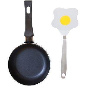 Conjunto-Mini-Frigideira-12cm-Antiaderente-com-Espatula-Casa-do-Chef-Azul-