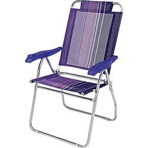 Cadeira-de-Praia-Alta-Aluminio-Reclinavel-Boreal-2131-Mor-Lilas-