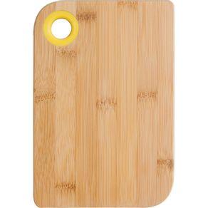 Tabua-de-Bambu-Retangular-com-Silicone-15x22cm-Anji-Amarela-