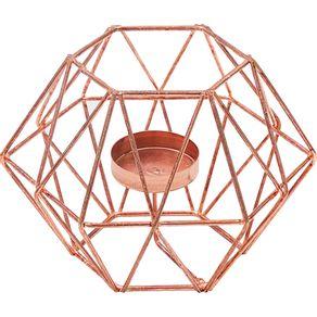 Porta-Vela-Hexagonal-Cazza-Cobre-