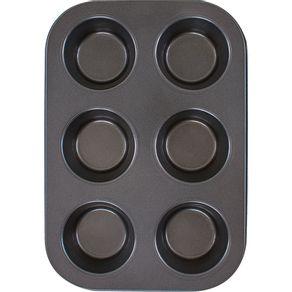 Forma-para-Cupcake-com-6-Cavidades-Antiaderente-Casa-do-Chef-Confeitaria-