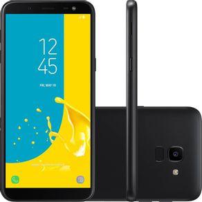 Smartphone-Samsung-J6-J600G-32GB-Desbloqueado-Dual-Chip-Tela-5.6-4G-Wi-Fi-e-13MP-Preto