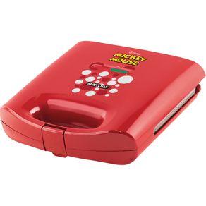 Sanduicheira-Grill-Mallory-Mickey-Mouse-Vermelha-127V-