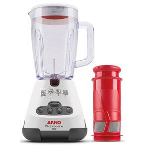 Liquidificador-Arno-com-Filtro-700W-Capacidade-1.6L-e-3-Velocidades-Clic-Pro-Juice-LN4J-Branco-127V