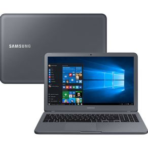 Notebook-Samsung-LED-HD-15.6--Essentials-E20-NP350XAA-Intel-Celeron-4GB-500GB-Windows-10-Cinza
