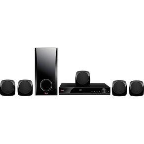 Home-Theater-com-DVD-LG-Karaoke-com-HDMI-330WRMS-DH4130S