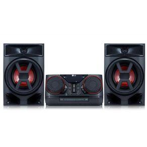 Mini-System-com-CD-220W-Bluetooth-LG-X-Boom-CK43-com-2-Entradas-USB-e-1-Auxiliar