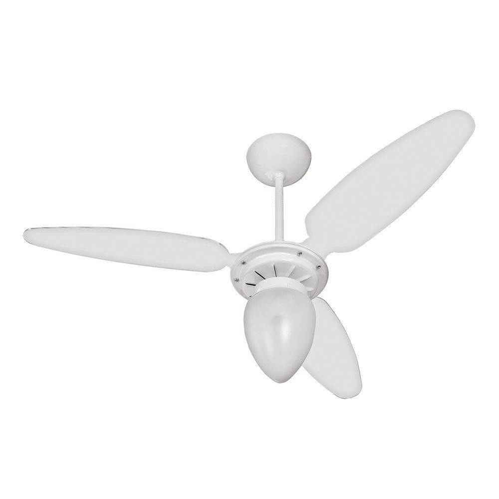 73513ac2c Ventilador de Teto 3 Pás Ventisol Wind Pêra com Dimmer 3 Velocidades Branco