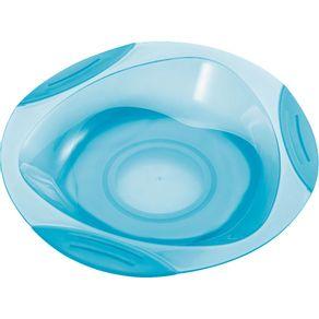 Prato-com-Ventosa-Multikids-Baby-Funny-Meal-BB049-Azul-