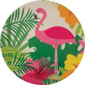 Prato-Fibra-de-Bambu-Sobremesa-20cm-Anji-Flamingo-