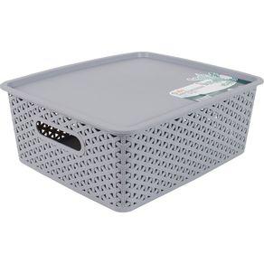 Caixa-Organizadora-14.5L-com-Tampa-CV151724-Ogza-Cinza-