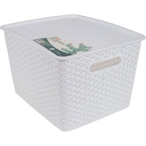 Caixa-Organizadora-35L-com-Tampa-CV151729-Ogza-Branca-