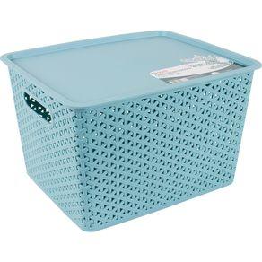 Caixa-Organizadora-35L-com-Tampa-CV151731-Ogza-Verde-