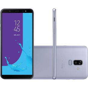 Smartphone-Samsung-J8-J810M-64GB-Desbloqueado-Dual-Chip.-Tela-6-.-4G-Wi-Fi-e-Dual-16MP-5MP-Prata-